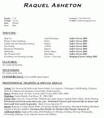 Performance Resume Cool Performance Resume Template Everything Of Letter Sample