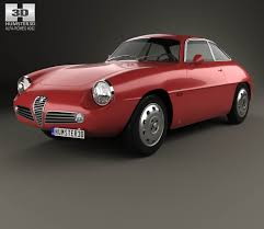 Alfa Romeo Giulietta 1960 3d model from Humster3D.com. | Alfa ...