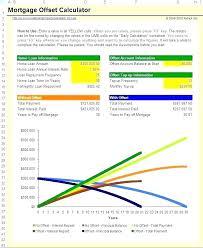 Spreadsheet Mortgage Calculator Template Design Templates Example Of