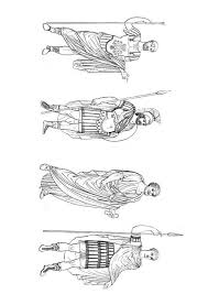 Kleurplaat Romeinse Mannen Afb 9423 Images