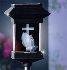 Solar Grave Decorations Solar Powered Grave Decorations Home Design And Decorating Ideas