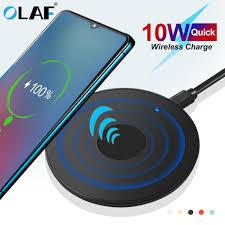 <b>Olaf 10W Qi Wireless</b> Charger USB Mi Cro Usb Cepat Pengisian ...
