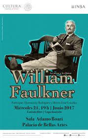 Se hablar sobre la obra de William Faulkner en el ciclo Lo joven.