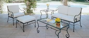 wrought iron garden furniture. Elegant Wrought Iron Furniture Garden