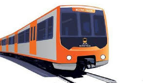 Image result for orange train lahore