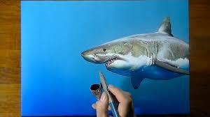 shark paper shark paper make your own shark hand puppet just paper  shark paper drawing time lapse a cute shark art on blue paper