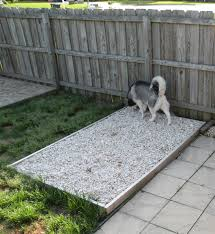 how to build an outdoor dog potty area this is such a great idea how to build an outdoor dog potty area this is such a great idea