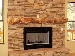 fireplace mantel shelves with natural shape