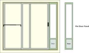 doggie door for slider cat door for slider patio door dog doors cat door slider 96