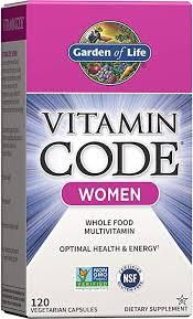 Garden of Life Multivitamin for Women, Vitamin Code ... - Amazon.com