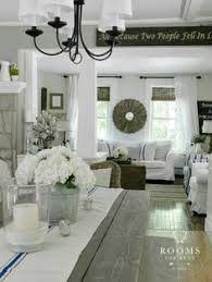 clic farmhouse style decor in grey find this pin and more on design living room