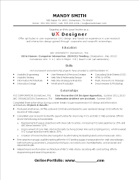 resume ux designer entry level ux designer resume templates at