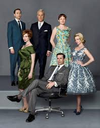 mad men cast vincent kartheiser john slattery elisabeth moss christina hendricks ad agency surprising office