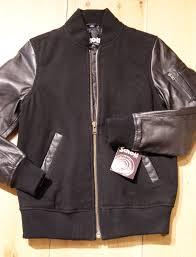 schott wool baseball jacket with leather sleeves scotch soda herringbone flannel shirt scarves from chelsea sony dsc