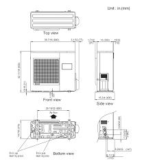 24rclx cassette halcyon™ single room mini split systems fujitsu aou36rlxfz installation manual at Fujitsu Mini Split Wiring Diagram