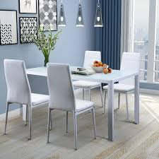 Glass top dining sets Seater Amazon Com Merax Pc Glass Top Dining Set Person Table With Regard To Kitchen Plan Robertgswancom Amazon Com Merax Pc Glass Top Dining Set Person Table With Regard To