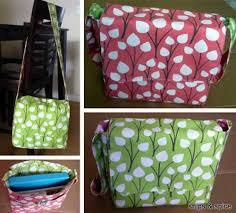 Messenger Bag Pattern Best Reversible Messenger Bag Love To Sew
