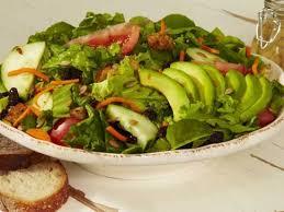 fresh garden salad. Contemporary Fresh Fresh Garden Salad With Strawberries And R
