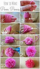 15 cool ways to make your own pom poms