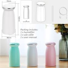 2019 <b>GIAHOL</b> 350mL <b>USB</b> Portable <b>Ultra Quiet</b> Conch Air Humidifier ...