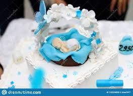 Baby Shower Cake Topper Fondant Edible Blue Baby Shower Baby Boy