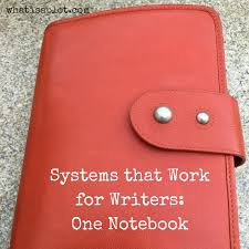 systems that work for writers one notebook ninja writers