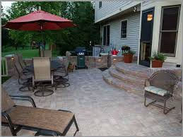 brilliant paver good looking small paver patio design ideas throughout designs