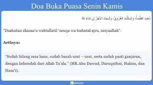 Nawaitu sauma yaumal khomisi sunnatal lillahi ta'ala. Niat Puasa Senin Kamis Bacaan Doa Keutamaan Manfaat