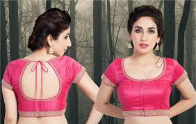 U Neck Saree Blouse Design New Latest Saree Blouse Designs 2020 Collection That Will
