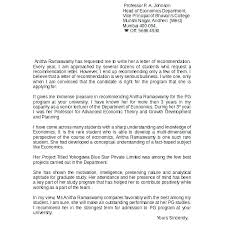 Example Recommendation Letter For Student 7 Reference