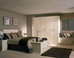 Bedroom Glamorous CAMDEN SHAKER CREAM & WOOD PAINTED BEDROOM