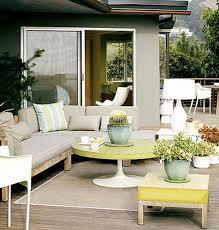 modern outdoor room deck lounge design