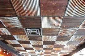corrugated steel ceiling corrugated metal ceiling tiles drop ceiling tin look ceiling tiles antique white tin