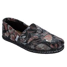 toms womens leather printed fl espadrille pumps