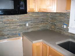 Slate Kitchen Backsplash Meade Home Renovation Documenting The Progress Of First Time