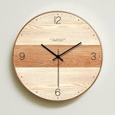 23 best of wooden wall clock design ideas