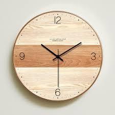 23 best of wooden wall clock design ideas