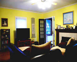 One Room Living Design Two Paint Colors In One Room