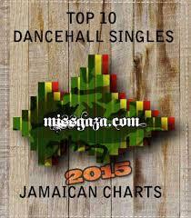 Top 10 Dancehall Singles Jamaican Charts Jan 2015 Miss Gaza