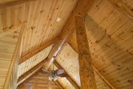 prefinished knotty pine paneling ceiling