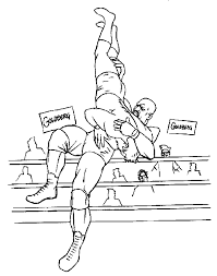 All of it in this site is free, so you can print them as many as you like. Coloring Pages Of Wwe Wrestlers Coloring Home