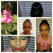 hair and makeup for dance recital