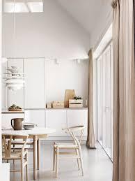 Light Wood Kitchen White Minimalist Kitchen Light Wood Natural Colors Home