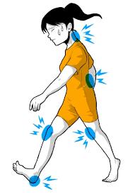 「歩き方 変 イラスト」の画像検索結果
