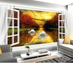 Scenery Wallpaper For Bedroom Online Get Cheap Wallpaper 3d Bedroom Scenery Aliexpresscom