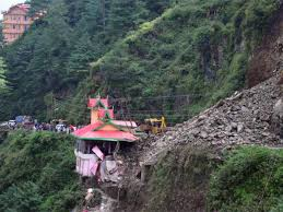 Shimla Landslide Landslide Buries Several Vehicles In Shimla Suburb