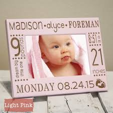 Modern Birth Announcement Frame