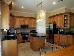 brown painted kitchen cabinets. Black And Brown Kitchen Cabinets With Oak White  Appliances Small Colors . Painted