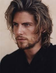 mens long hairstyles thick and shiny