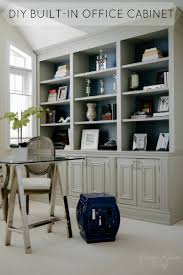office built in furniture. diy office builtin cabinet classy glam living built in furniture
